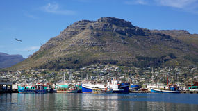 Hout Bay Harbour Royalty Free Stock Photography
