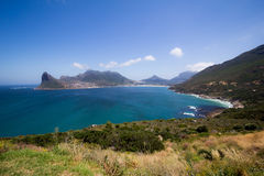 Hout Bay panoramic view Royalty Free Stock Photos