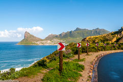 Hout Bay Road Royalty Free Stock Photos