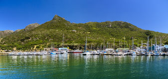 Hout Bay, South Africa. Republic of South Africa. Hout Bay Cape Peninsula - marina royalty free stock photo
