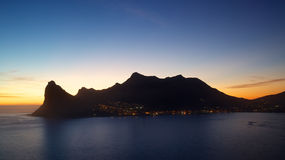 Hout Bay Sunset Royalty Free Stock Image