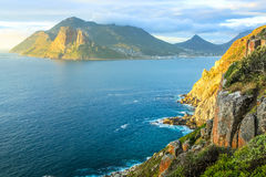 Hout Bay at sunset Stock Photos