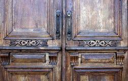 Hout, deur, decoratieve oppervlakte, hulp, Straat, aard, achtergrond royalty-vrije stock foto