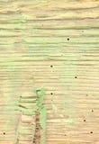 Hout door houtworm wordt beschadigd die stock foto