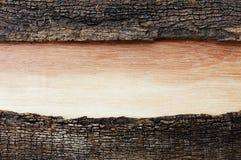 Hout met kleurengradatie op oude houten Royalty-vrije Stock Afbeelding