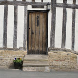 Hout-ontworpen huis in East-Anglia Stock Foto