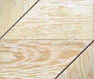 Hout Textuur van gele witte bruine papieren zakdoekje, achtergrond of textuur Stock Afbeelding
