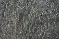 Hout in zwarte kleur wordt geschilderd die Oud Hout royalty-vrije stock foto's