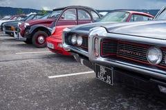 Houtaud/Franche Comté/France/June 2018: Forthood van Pontiac stock afbeeldingen