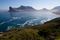 Houtbay South Africa. A scenic bay along the coast of South Africa royalty free stock photography