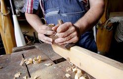 houtbewerking Stock Foto's