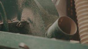 Houtbewerkingsfabriek, Zaagmolen stock video