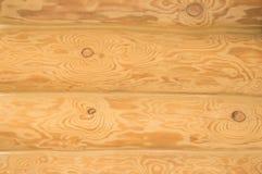 Houten achtergrond, licht logboek, houten textuur, houten muur royalty-vrije stock afbeelding
