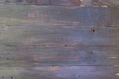 Houten achtergrond Textuur, de oppervlakte van de oude raad van natuurlijk hout met verschillende schaduwen van zwarte en donkere Stock Afbeelding