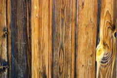 Houten achtergrond van verticale raad De oude houten achtergrond van de planktextuur royalty-vrije stock fotografie