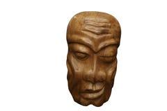 Houten Afrikaans masker Royalty-vrije Stock Foto's