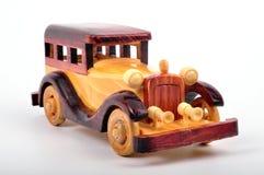 Houten auto Royalty-vrije Stock Afbeeldingen