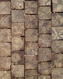 Houten baksteenpatroon Royalty-vrije Stock Foto's