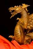 Houten Balinese Draak stock foto