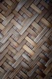 Houten bamboe Stock Afbeeldingen