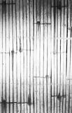 Houten bamboeachtergrond Stock Foto