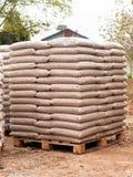 Houten biomassa - duurzame energie Stock Foto
