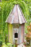 Houten birdcage Royalty-vrije Stock Foto's