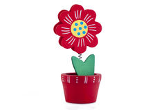 Houten bloem Stock Afbeeldingen