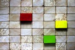 Houten blokken uitstekende achtergrond Royalty-vrije Stock Afbeelding