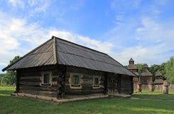 Houten boerderij royalty-vrije stock fotografie