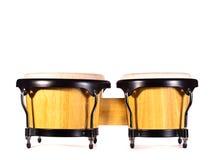 Houten bongo Stock Fotografie