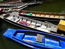 Houten boten in Thailand Royalty-vrije Stock Fotografie