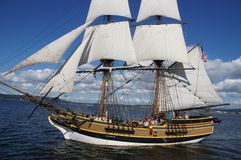 Houten brig, Dame Washington Royalty-vrije Stock Afbeeldingen