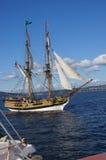 Houten brig, Dame Washington Stock Foto