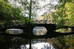 Houten Brug Stock Foto's