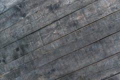 Houten bruine korreltextuur, donkere muurachtergrond stock foto