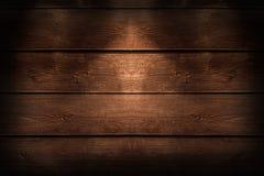 Houten bruine plank Stock Afbeeldingen