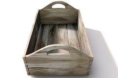 Houten Carry Crate Stock Foto's