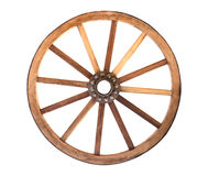 Houten cartwheel stock foto