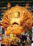 Houten Chinese ido van de traditie Stock Foto's