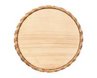 Houten cirkel stock afbeeldingen