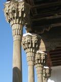 Houten colonnade Royalty-vrije Stock Fotografie