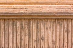 Houten Comités van een Estlands Huis Royalty-vrije Stock Afbeelding