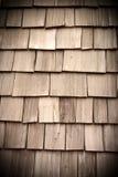 houten daktegel Stock Fotografie