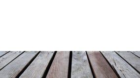 Houten dark van de lijstbovenkant op achtergrond Stock Foto's