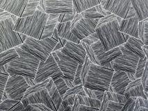 Houten de decoratieachtergrond van de muurmeetkunde Abstracte geometrische achtergrond van het hout Abstract behang Royalty-vrije Stock Foto's