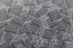 Houten de decoratieachtergrond van de muurmeetkunde Abstracte geometrische achtergrond van het hout Abstract behang Stock Foto
