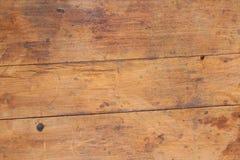 Houten de korrelachtergrond van de textuurplank, houten bureaulijst of vloer stock fotografie