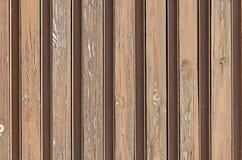 Houten de korrelachtergrond van de textuurplank, oude gestreepte houtraad, Pasarel Royalty-vrije Stock Afbeelding