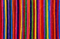 Houten de muurachtergrond van de kleur Stock Afbeelding